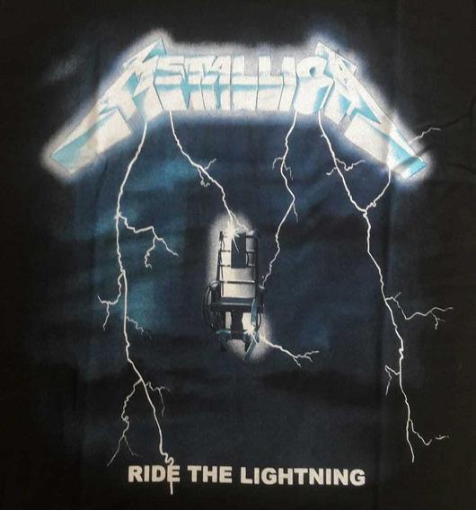 Camiseta Metallica Ride The Lightinig Brutal Bmrl07