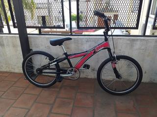 Bicicleta X-terra Rodado 20 Bmx Unisex Aluminio Lista