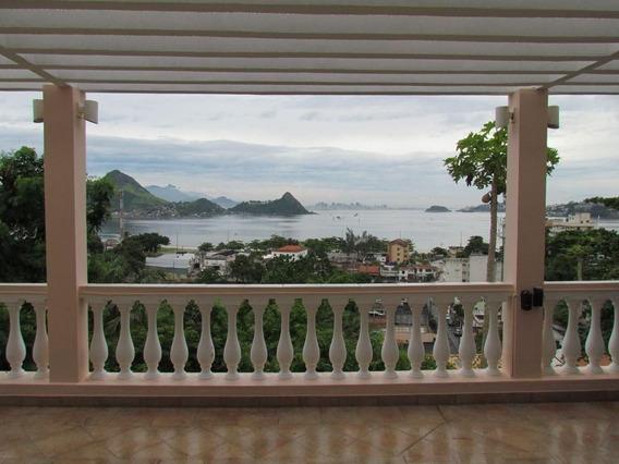 Oportunidade: Casa Em Condomínio Vista Mar, 5 Qts, Lazer - 451