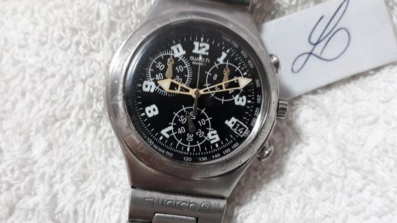 Relógio Swatch Irony Cronógrafo, Coleção 1998 - Lindo !