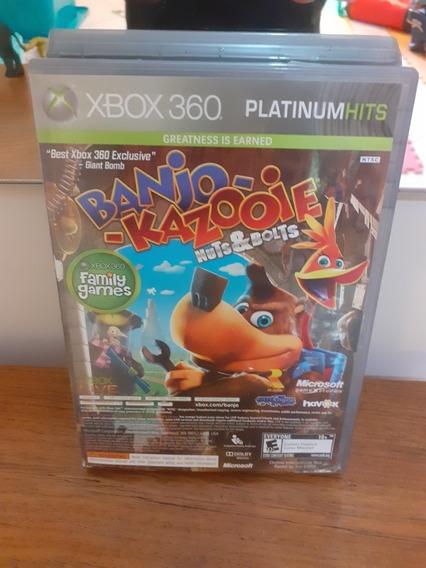 Jogo Banjo Kazooie E Viva Pinata Xbox 360 Platinum