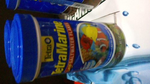 Imagen 1 de 1 de Tetramarine Flakes 80 Gr Acuario Alimento Peces Marino