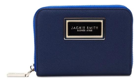 Billetera Jackie Smith Cierre Azul Negro Violeta Rojo