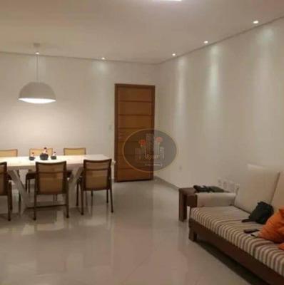 Apartamento Com 4 Dormitórios À Venda, 120 M² Por R$ 901.000 - Boqueirão - Santos/sp - Ap4053