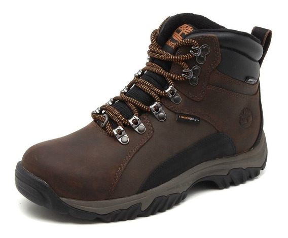 Bota Timberland Thorton Mid Wp Insulated Dark Brown Marrom
