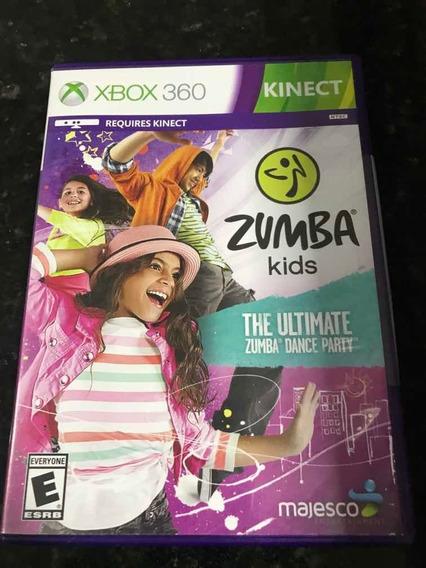 Jogo Xbox 360 Kinect Zumba Kids Original Mídia Física
