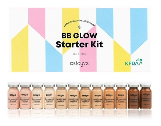 Bb Glow Starter Kit - 12 Ampolas - Bbglow Stayve - Em Sp