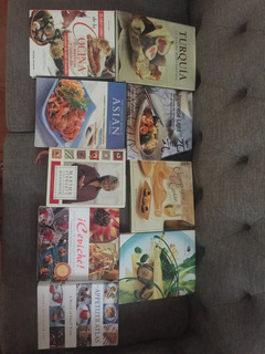 Libros De Cocina Recetarios Cocinar Pescados Carnes Postres