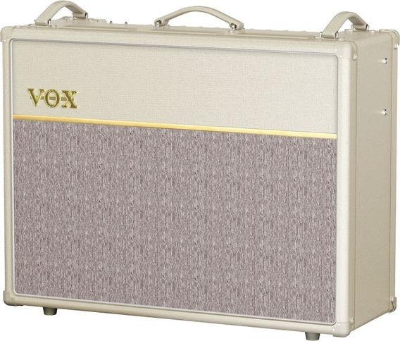Combo Vox Ltd Edition Cream Ac30c2 Novo + Nf!