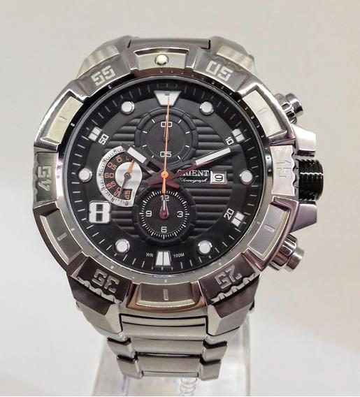 Relógio Orient Masculino Titânio Cronógrafo Mbttc012 P2gx