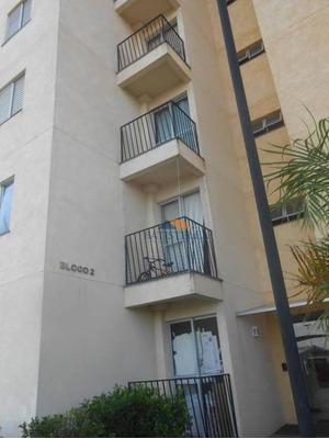 Apartamento Com 2 Dormitórios Para Alugar, 50 M² Por R$ 500/mês - Jardim Residencial Recanto Alvorada - Limeira/sp - Ap0478