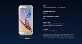 Samsung Galaxy S6 | 32gb | Gold 100% Novo Original Garantia