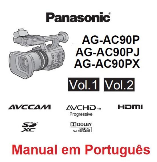 Manual Em Português Da Filmadora Panasonic Ag-ac90