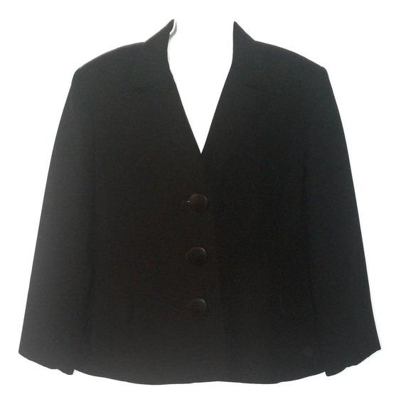 Saco Ivonne Dama Elegante Talla 16/36 Seminuevo Blazer Mujer Con Solapa Liquidacion $690a