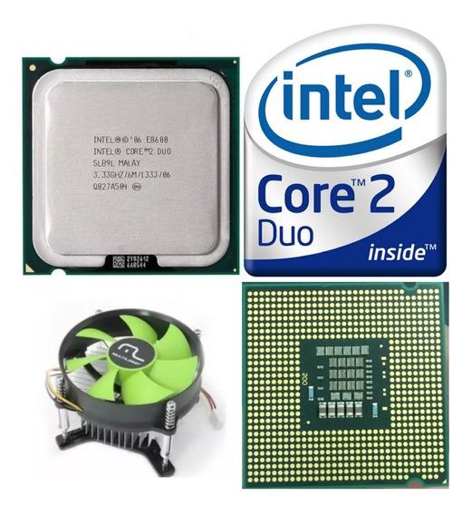 Processador Core 2 Duo E8600 775 + Cooler Seminovo