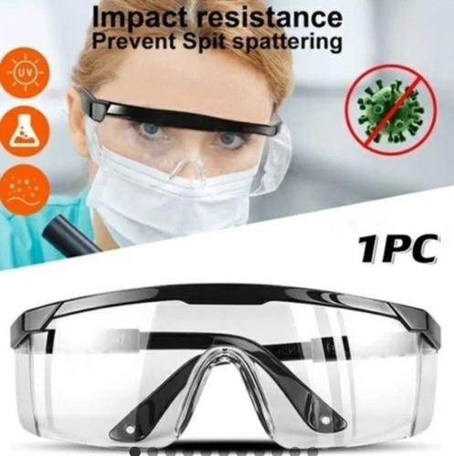 Imagen 1 de 5 de Lentes Gafas De Protección Medica Industrial Antiempañante