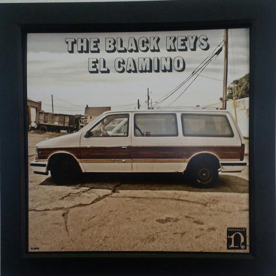 Lp Quadro The Black Keys El Camino Quadro Capa De Disco