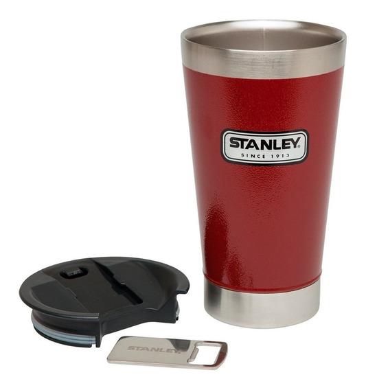 Copo Térmico Cerveja Stanley Abridor Mantém Gelado 4,5 Horas