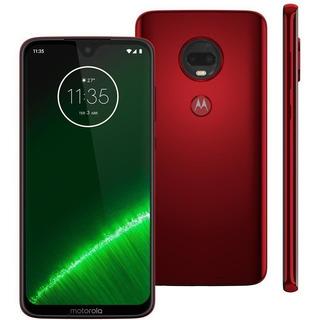 Motorola Moto G7 Plus - Rubi - 64gb - Novo - Lacrado