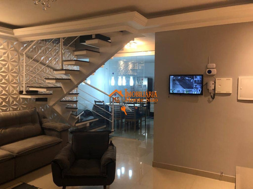 Sobrado Com 3 Dormitórios À Venda, 300 M² Por R$ 689.000,00 - Jardim Giovana - Guarulhos/sp - So0521