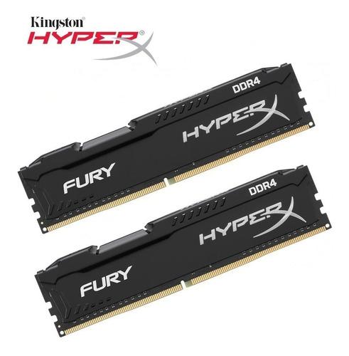 Imagen 1 de 2 de Memoria Hyperx Ddr4 8gb 2400 Fury Black Nuevo Oferta