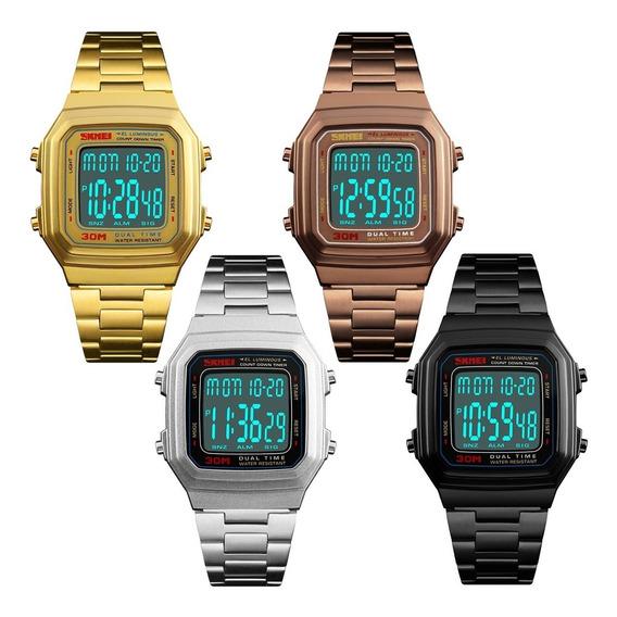 Relógio Feminino Masculino Esportivo Digital Original Nf