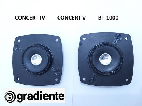 Tweeter Original Gradiente Concert 4 Concert 5 Bt-1000 (par)
