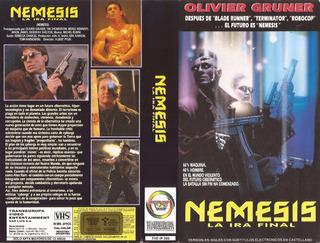 Nemesis Vhs Brion James Olivier Gruner Cyberpunk 1992