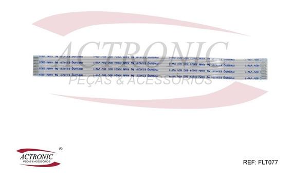 Flat Cable 12 Vias 15cm 1mm - Kit 4 Pças