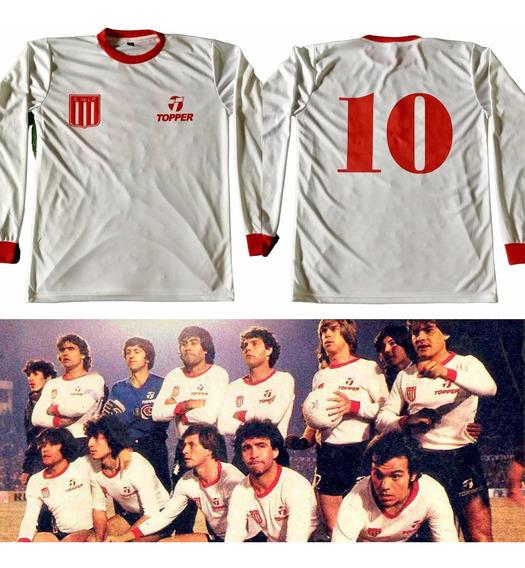 Camiseta Estudiantes Campeón 1982 / 1983 Retro Manga Larga