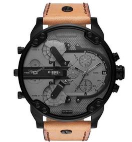 24f4ae9f5325 Reloj Diesel Cuero De Piel - Joyas y Relojes en Mercado Libre México
