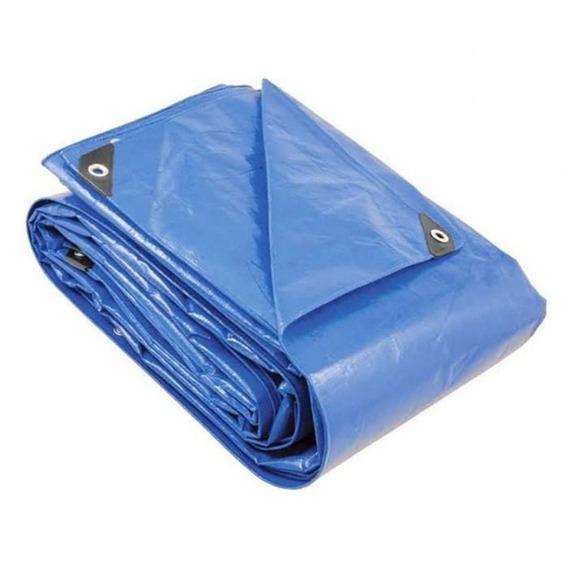Lona Polietileno Azul 6x6m Vonder