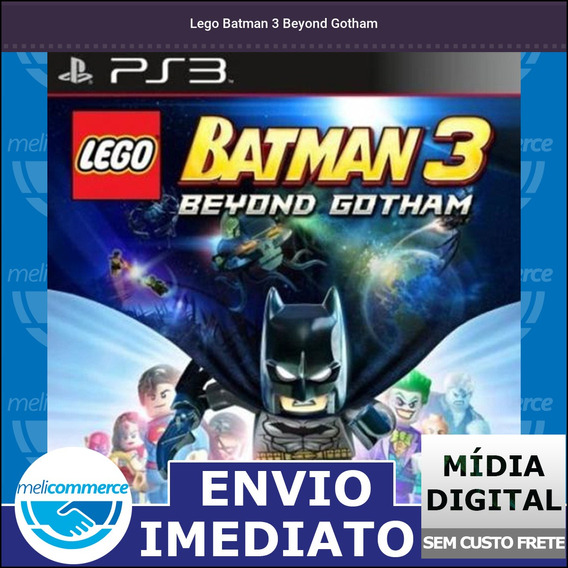 Lego Batman 3 Beyond Gotham Digital Psn Envio Imediato