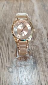 Relógio Atlantis Feminino Cobre Original