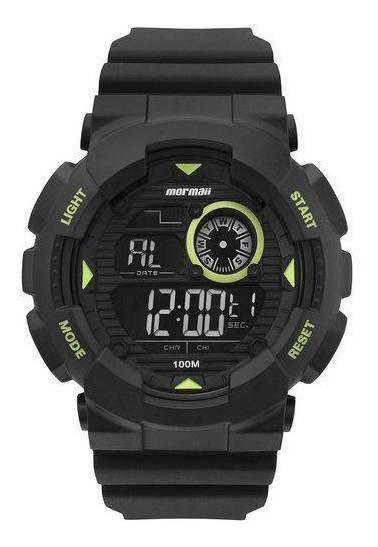 Relógio Masculino Mormaii Mo3415c/8v Preto