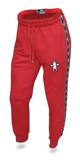 Pantalon Jogger Baller Brand Fit Boss Torino Rojo