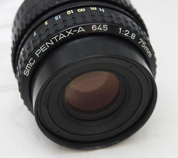 Lente 75mm F/2,8 Pentax -a Para 6x4,5