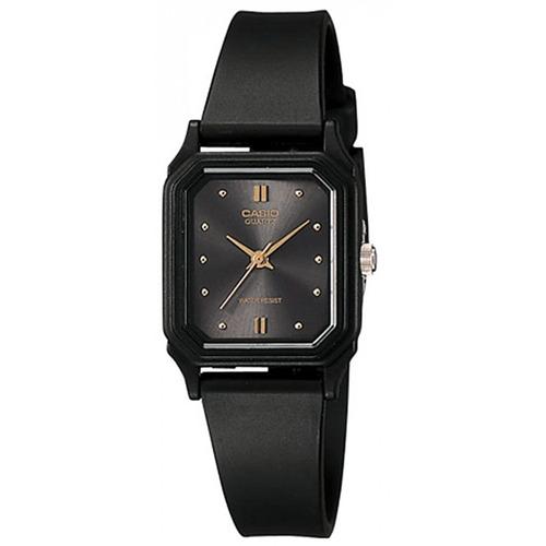 Reloj Mujer Casio Lq-142e-1 Analogo Negro / Lhua Store