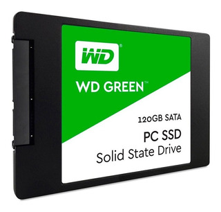 Wd Unidad De Estado Solido Western Digital 120gb Sata 6 0