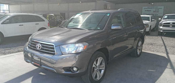 Toyota Highlander Base Premium Sport Aa Qc Piel At 2009