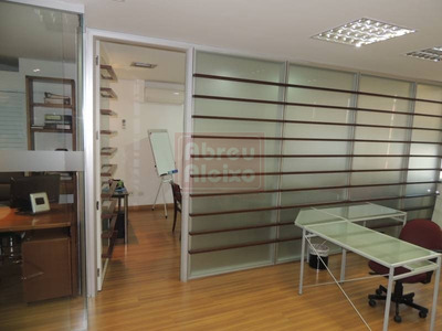 Tatuapé - Sala Comercial , Conjunto Com 100 M² ´úteis, 3 Banheiros + 2 Vagas De Garagem - Impecável - Ao Lado Da Praça Silvio Romero - 884