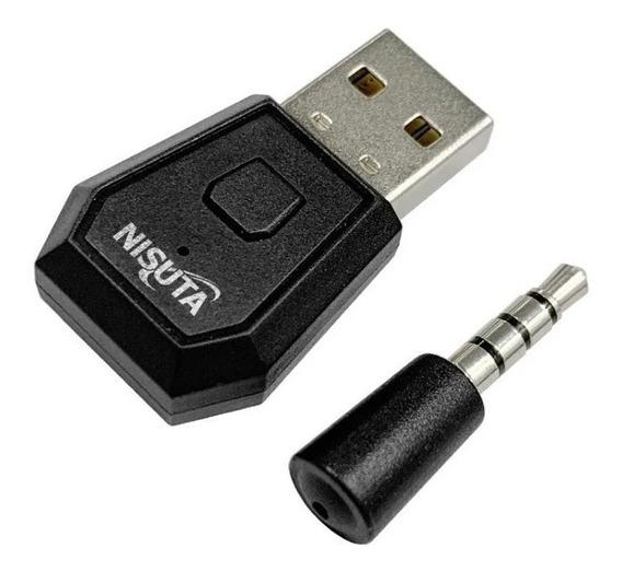 Adaptador De Audio Bluetooth Usb Ps4 Empareja Auriculares Bt