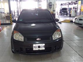 Ford Fiesta Ambiente Plus 2008 Antyctas Excelente Estado(nv)