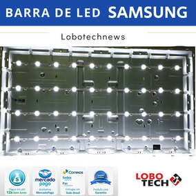 Kit 8 Barras De Led Samsung Un49j5200ag Un49j5200 Original!!
