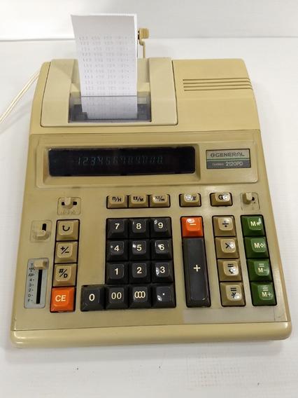 Calculadora General Teknika 2120pd + Bobina + Fita Bivolt
