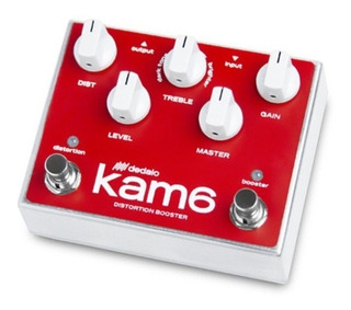 Pedal Dedalo Kam6 Kamikaze Efecto Distorsion Guitarra