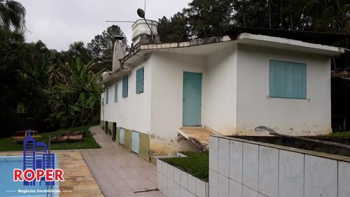 Chácara De 9.749 Metros Com Piscina E Três Lagos À Venda Em Aruja. - Ch00899 - 68409651