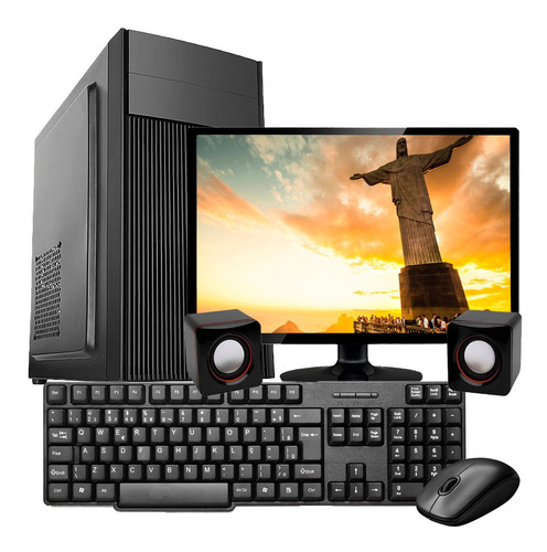 Imagem 1 de 5 de Computador Pc Completo Intel Core I5 4gb Hd 500 Monitor