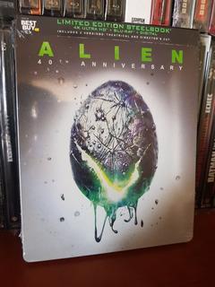 Alien 40th Anniversary Steelbook 4k + Blu-ray Excl Best Buy