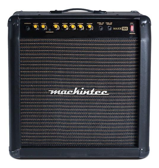 Caixa Cubo Ativo Para Guitarra Mackintec Maxx 100 100 W Rms